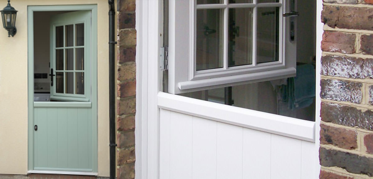 Upvc Stable Doors With Cat Flap Fitted
