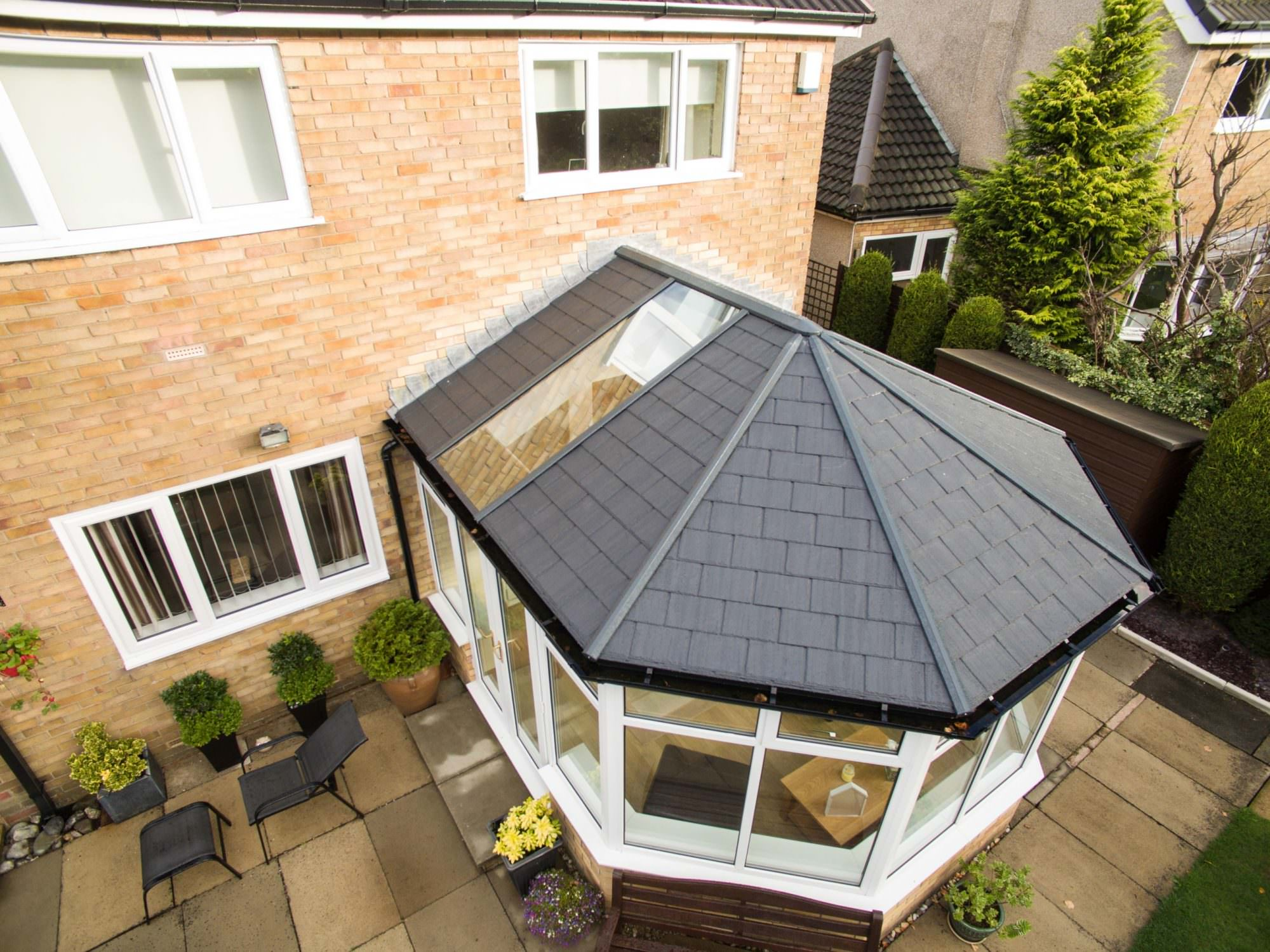 Tiled Conservatory Roofs Styles in Bishops Stortford Homes