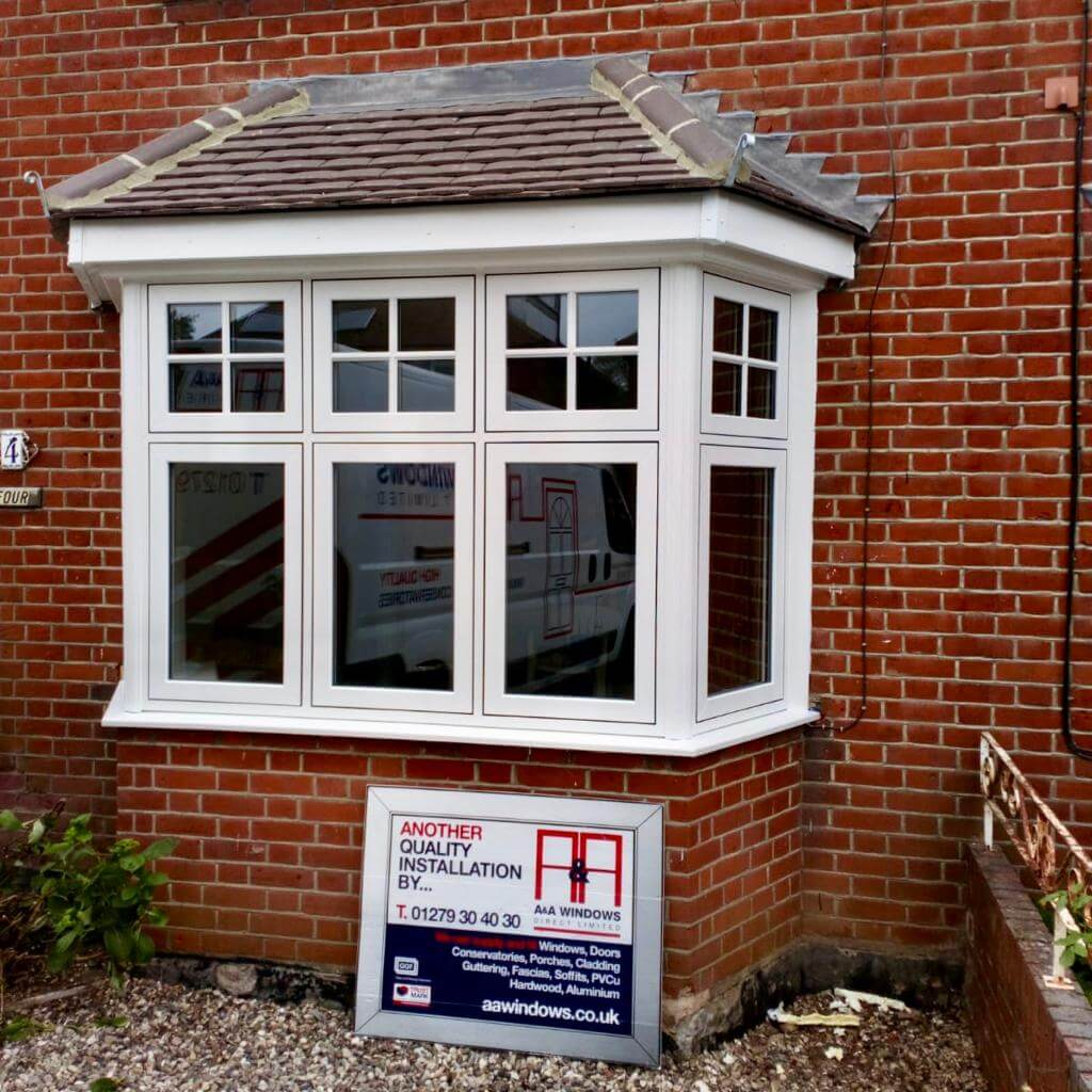 AFTER: Flush Sash Window Installation Bishop's Stortford